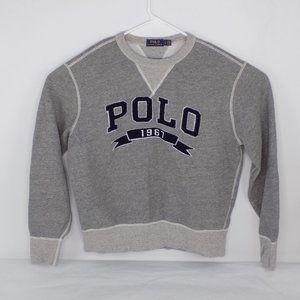 Polo Ralph Lauren Collegiate Sweatshirt Size Large